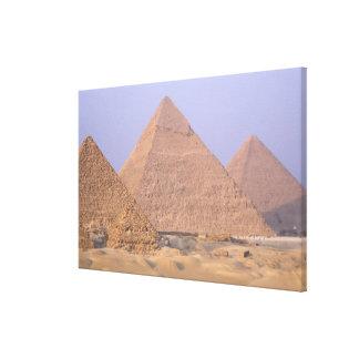 Menkaure Mycerinusのピラミッド)、ピラミッドの キャンバスプリント