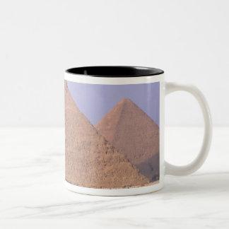 Menkaure Mycerinusのピラミッド)、ピラミッドの ツートーンマグカップ