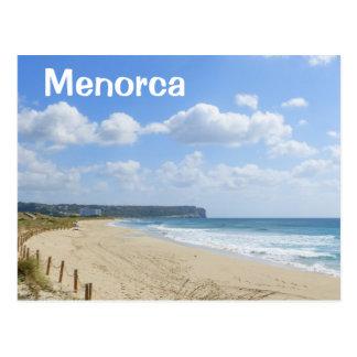 Menorcaの息子のBouのビーチ ポストカード