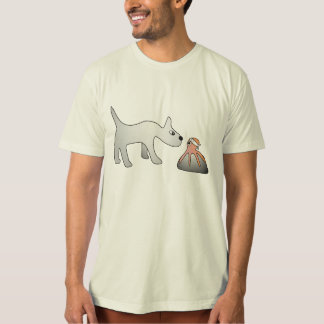 Men's Organic Shiro and Tako T-Shirt Tシャツ