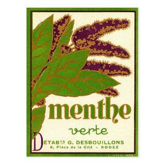 Menthe Vert ポストカード