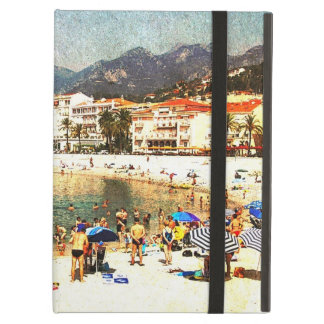MentonのCote d'Azur都市ビーチ