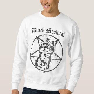 Meowtalの黒いスエットシャツ スウェットシャツ