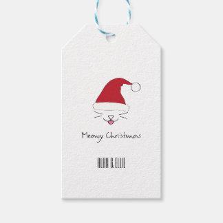 Meowyのクリスマスのギフトのラベル ギフトタグ