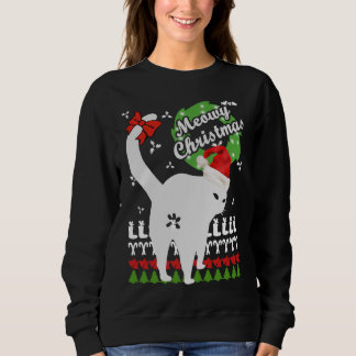 Meowyのクリスマス スウェットシャツ