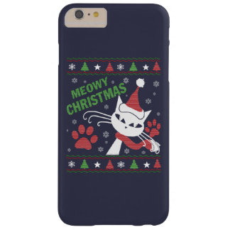 Meowyのクリスマス Barely There iPhone 6 Plus ケース