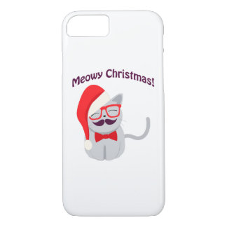 Meowyのクリスマス! iPhone 8/7ケース