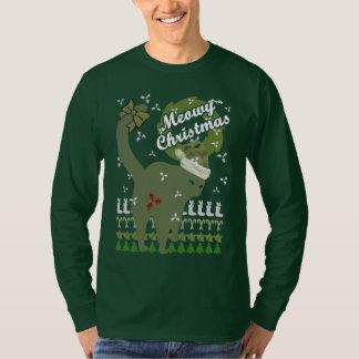 Meowyのクリスマス Tシャツ