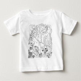 Mercatのマンダリン ベビーTシャツ