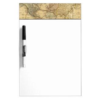 Mercatorsの投射の世界地図 ホワイトボード