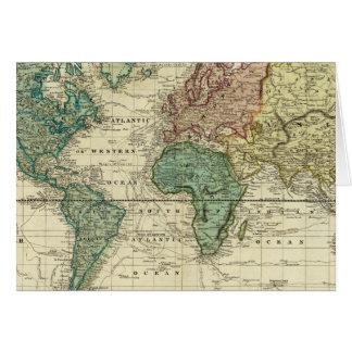 Mercatorsの投射の世界 カード