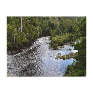 MERCHICENTの川TARKINEの国立公園タスマニア キャンバスプリント