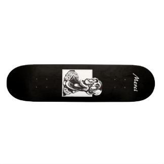 Merciピエロ 18.1cm オールドスクールスケートボードデッキ