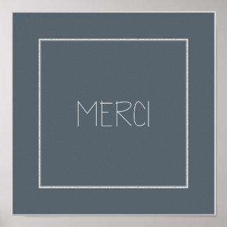 MERCI -ありがとう ポスター