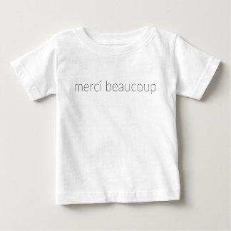 Merci Beaucoup ベビーTシャツ