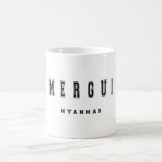 Merguiミャンマー コーヒーマグカップ