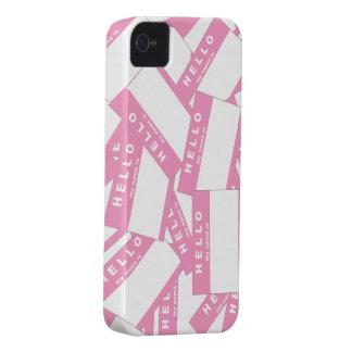 Merhabaのアイボリーの(ピンクの) iPhoneの場合 Case-Mate iPhone 4 ケース