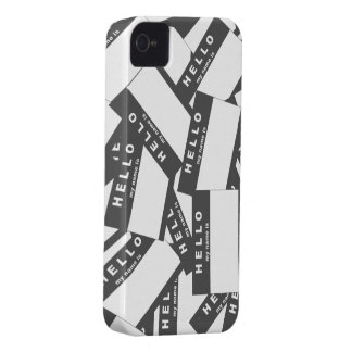 Merhabaのアイボリーの(煙) iPhoneの場合 Case-Mate iPhone 4 ケース
