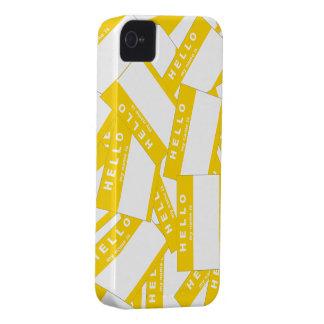 Merhabaのアイボリーの(金ゴールド) iPhoneの場合 Case-Mate iPhone 4 ケース