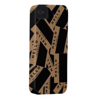 Merhabaの黒檀(タン)のiPhoneの場合 Case-Mate iPhone 4 ケース