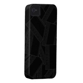 Merhabaの黒檀(木炭)のiPhoneの場合 Case-Mate iPhone 4 ケース