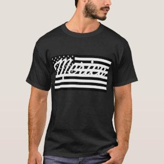 Mericaの黒いティー Tシャツ