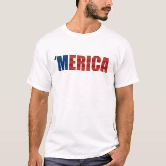 「MERICAのTシャツ-星条旗 Tシャツ