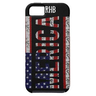 MERICA -アメリカのプライドの俗語米国の旗 iPhone SE/5/5s ケース