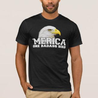 「MERICA 1 Badassの鳥のTシャツ Tシャツ