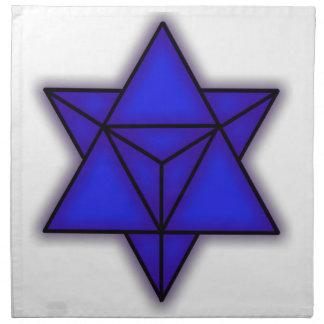 Merkabaの青い布Napk ナプキンクロス