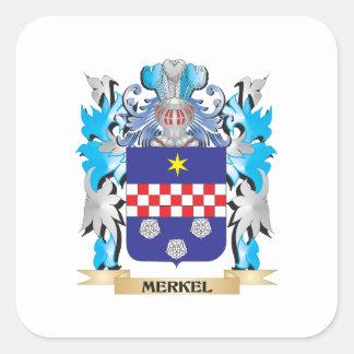 Merkelの紋章付き外衣-家紋 スクエアシール