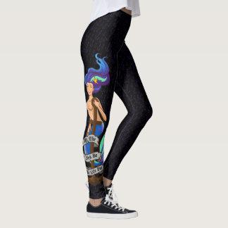 mermaid_msaquapurple_leggings レギンス