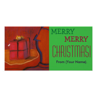 Merrのメリークリスマスカスタマイズ可能なNotecard カード