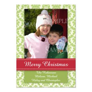 Merrryのクリスマスの写真テンプレートGroupon カード
