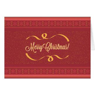 Merry Christmas カード