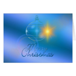 Merry Christmas, Ornament, Business カード