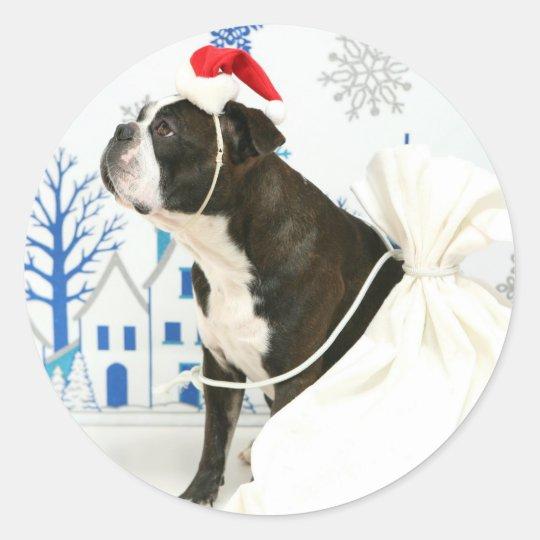 Merry Christmas,Pocky. ラウンドシール