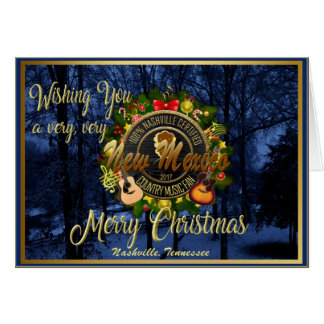 Merry Christmas to a New Mexico Country Music Fan カード