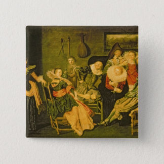 merry Company 5.1cm 正方形バッジ