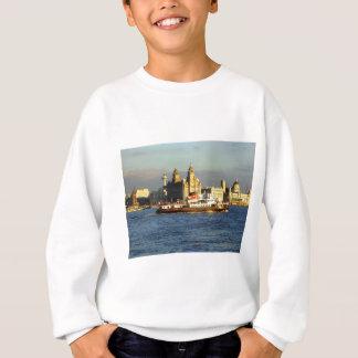 Merseyフェリー及びリヴァプールの水辺地帯 スウェットシャツ