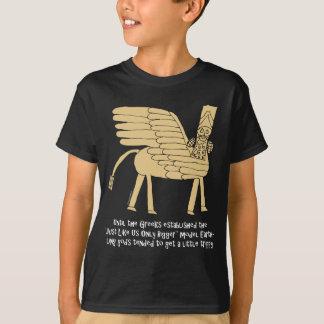 Mesopotamian-God_white.pdf Tシャツ