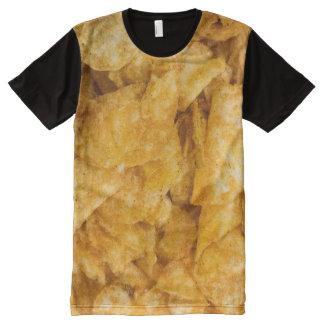 Mesquiteのポテトチップ オールオーバープリントT シャツ