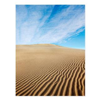 Mesquiteの平たい箱の砂丘 ポストカード