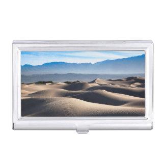 Mesquiteの平らな砂丘 名刺入れ