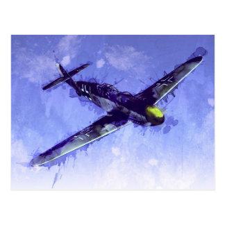 Messerschmitt Bf 109 ポストカード