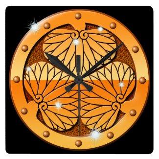 Metal Aoi 時計