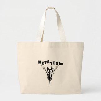 Metalexicのバッグ! ラージトートバッグ