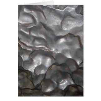 Metallic_Meteorite_Rock、_ グリーティングカード