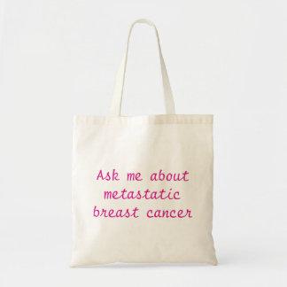 Metastatic乳癌について私に尋ねて下さい! トートバック トートバッグ
