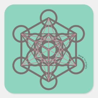 Metatronの立方体 スクエアシール